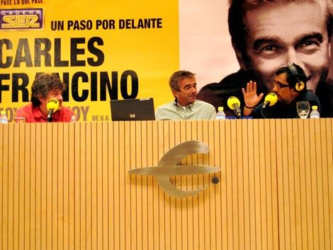 Con Francino en Zaragoza