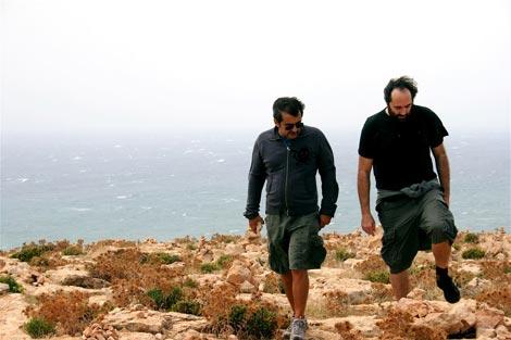 Con Mikel por Formentera