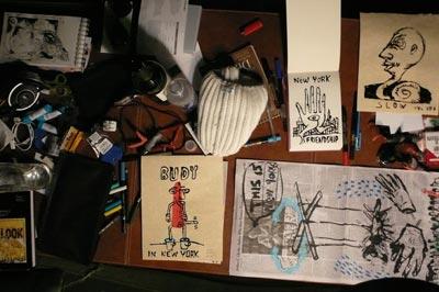 Dibujos y objetos