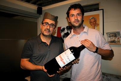 Con Xavi Roca