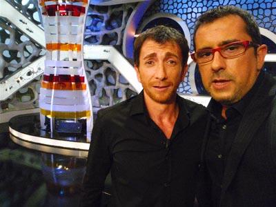 Con Pablo Motos