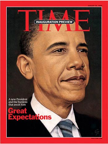 Obama presidente, Bush al olvido #1