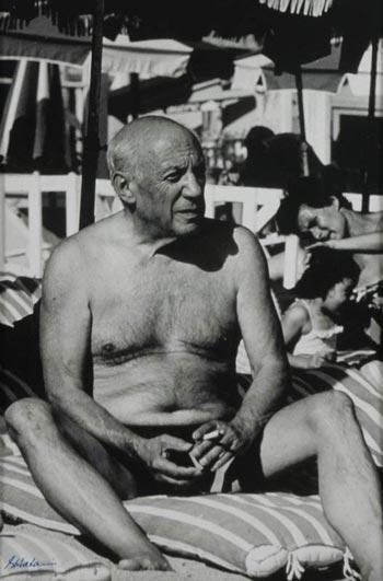 Picasso en la playa